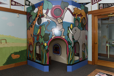 Play Area for Kids at the Pediatric Dentist Office serving Greenville, Simpsonville, Easley and Taylors